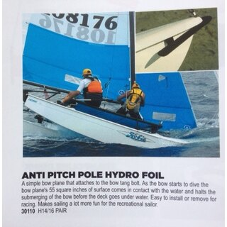 Foils Rumpf Spitzen/Anti Pitch Pole Foil